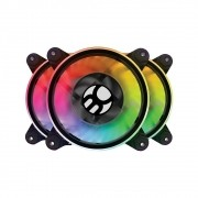 Cooler Fan S-LED Ring BFR-15RGB LED RGB 120mm - Bluecase