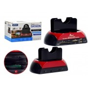 """Dock Station para Notebook  e PC (2.5""""/3.5"""") KP-HD005 - Knup"""