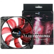 Cooler Lightning 12cm LED Vermelho Fan - Aerocool