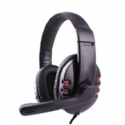 Fone De Ouvido Headset Gamer com microfone e plugue Usb Tek One -  X6