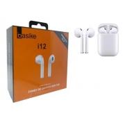 Fone De Ouvido Sem Fio Bluetooth 5.0 I12 Basike