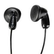 Fone De Ouvido Auricular Preto 5 W  sem microfone com cabo de 1,2 m  Sony Mdr-e9lp