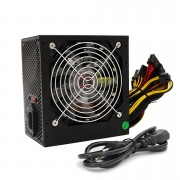 Fonte Atx  550w com Cooler 120 mm Led Rgb Hoopson 550c