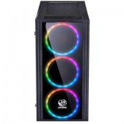 Gabinete Gamer Saturn com RGB 7 Cores - Pcyes