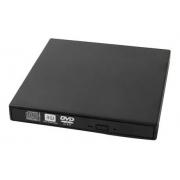 Gravador DVD Bluecase Externo Slim USB 2.0 BGDE-01