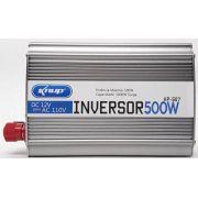 Inversor Conversor 12v - 110v 500w Transformador Veicular- Knup