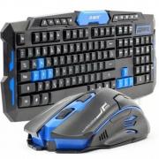 Kit Teclado e Mouse Gamer Sem Fio Wireless 1600 DPI B-max BM-T07