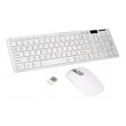 Kit Teclado + Mouse sem fio com capa de silicone K-06