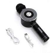 Microfone Bluetooth Karaokê Wireless Speaker Sem Fio Usb