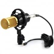 Microfone Estúdio Profissional Condensador BM800 - BM
