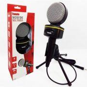 Microfone  Condensador Tomate Com Tripe MT-1021