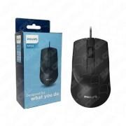 Mouse com Fio M104 1000 DPI - Philips