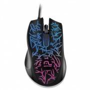 Mouse Gamer  Led multicolorido de alta performance Multilaser Fusion Mo 227