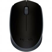 Mouse Logitech M170 Sem Fio Rc/nano Preto/grafite