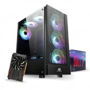 PC Gamer 10ª Geração - I7 9700 - GTX 1050Ti 4GB - 16GB RAM - SSD 480GB - 500W