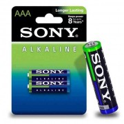 Pilha Palito Alcalina - AAA - Pack com 2 Unidades - Par