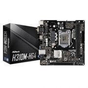 Placa Mãe Asrock Intel Lga 1151 H310m-hg4 Ddr4