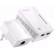 Powerline Tl-wpa4220 Kit Starter 300mbps Av600 Wifi