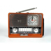 Rádio Retrô com Lanterna Ecooda EC-105BT