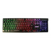 Teclado Gamer Semi Mecânico Usb Led Backlight Andowl Q-801