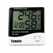 Relógio Digital Termo Higrômetro Tomate PD-003