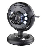 Webcam 16MP Night Vision C/ Microfone USB WC045 - Multilaser