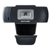 Webcam Multilaser 1280x720 30fps Cabo 1,7m Usb 2.0 Ac339