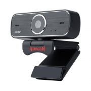 Webcam Streaming Redragon Hitman GW800 USB Full HD 1080P 30FPS C/ Foco Fixo