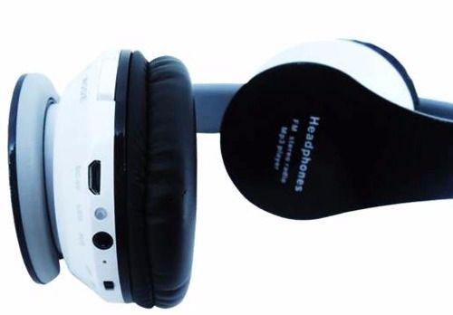 Fone De Ouvido Bluetooth / Sem Fio / Micro Sd / Fm / Mp3 B01