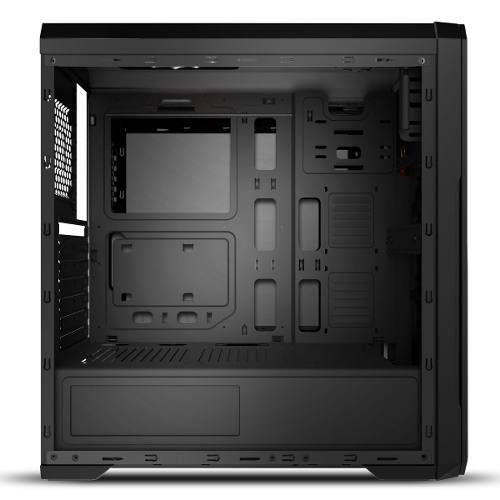 Gabinete Gamer Bluecase Bg-009 Black Usb 3.0