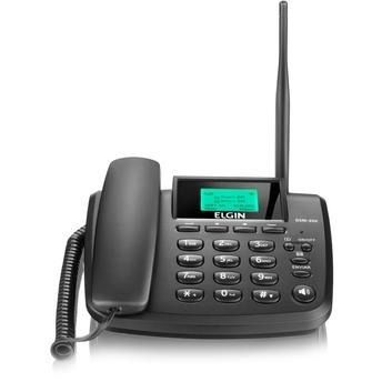 Telefone Celular Rural Fixo 2 Chip Gsm200 Elgin