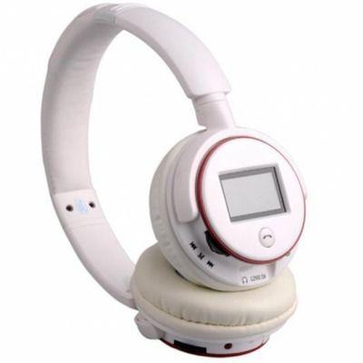 Fone Ouvido Sem Fio Headphone Bluetooth Mp3 Microsd XZ-380