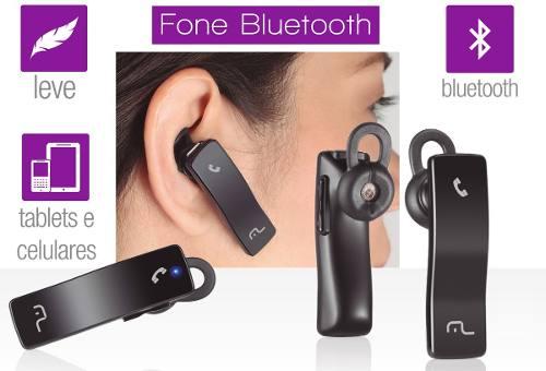 Fone Bluetooth Para Celular AU203 Multilaser