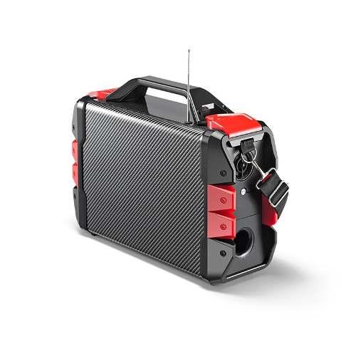 Caixa De Som 100w Bluetooth Amplificada Com Microfone Multilaser