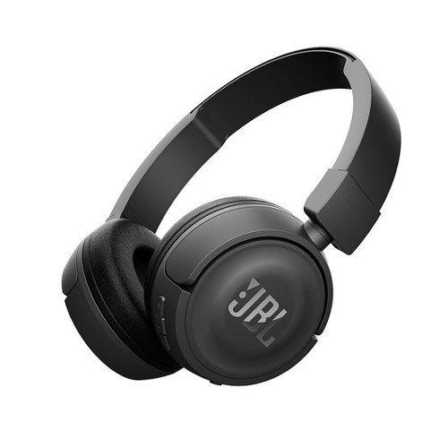 Fone De Ouvido Sem Fio Bluetooth Dobrável Preto T450bt Jbl