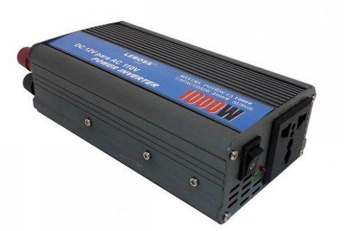 Inversor Veicular - 1000w - 12v Para 110v - Leboss Original