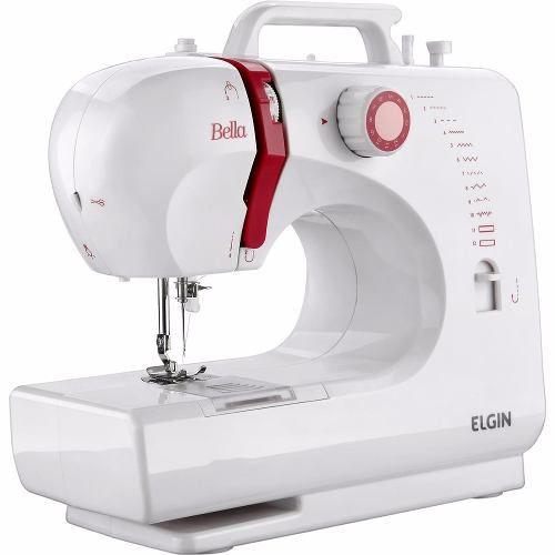 Máquina De Costura Portátil Bella Bl-1200 Elgin Bivolt
