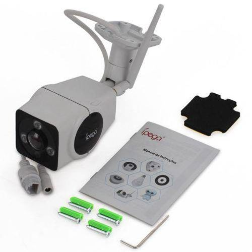 Câmera Segurança Externa Ip Wifi Panorâmica 360° Ípega