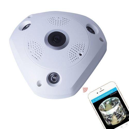Camera Ip Panoramica Segurança Wi-fi 360