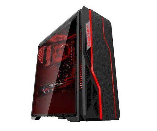 Gabinete Gamer Black Lateral Acrílico Bg-009 Bluecase