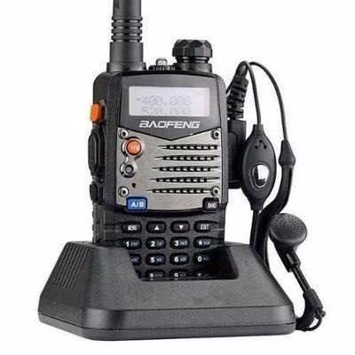 Radio Comunicador Uhf / Vhf com Fone Uv-5r Baofeng