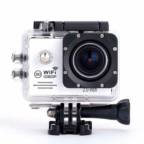 Câmera Wifi Esportiva 1080p Full Hd 12mp Lcd 2.0 Action Cam