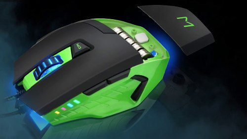 Mouse Gamer 3200dpi + MousePad Warrior Mo245 Multilaser