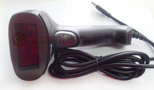 Leitor Código De Barras Com Fio Laser Scanner Knup