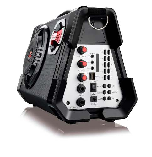 Caixa Amplificada 80w Mp3 Usb Com Microfone SP191 Multilaser