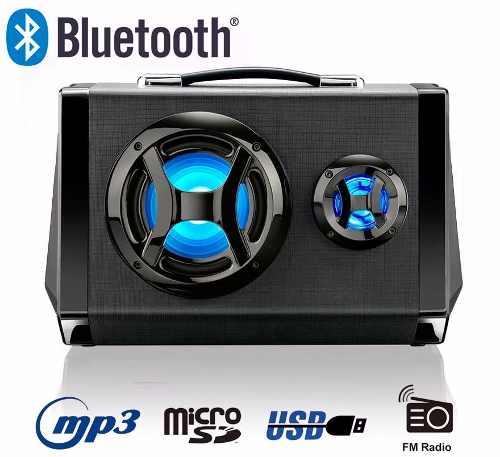 Caixa Amplificada 80w Som Portatil Bluetooth - Multilaser