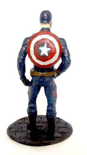Estatueta em Resina - Hulk Ou Homem De Ferro Ou America Resina