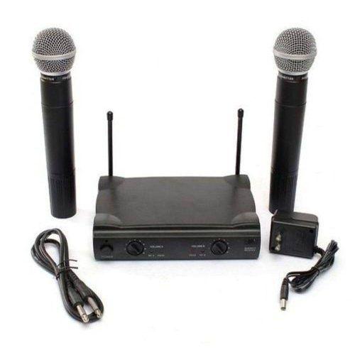 Microfone  Profissional UHF LE-906 sem Fio - Lelong
