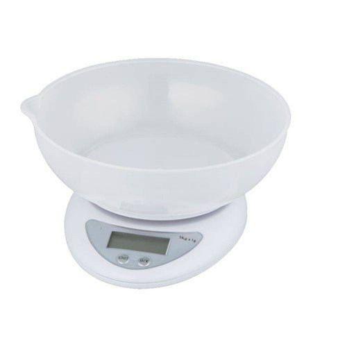 Balança Digital de 5kg com Tigela SF-420 - Tomate