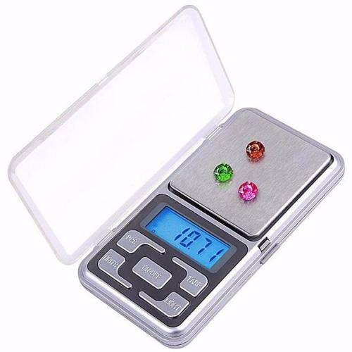 Mini Balança Digital De Bolso E Alta Precisão 0,1 Até 500g